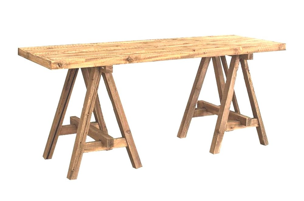 Recycled Wood Console Table $125