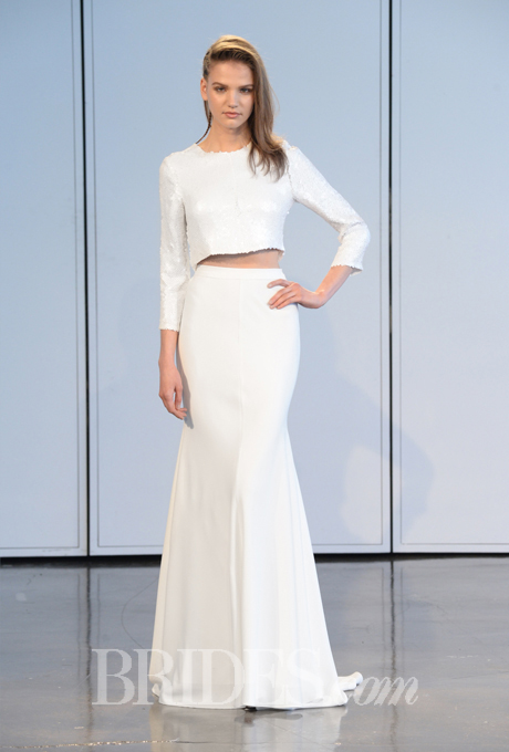 Houghton Spring 2015 via Brides.com
