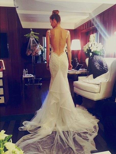 Galia Lahav (Photo Courtesy of @KinsleyJamesCoutureBridal on Instagram)