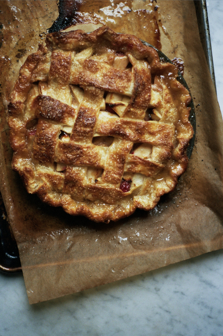 apple and cranberry pie (yossy arefi)