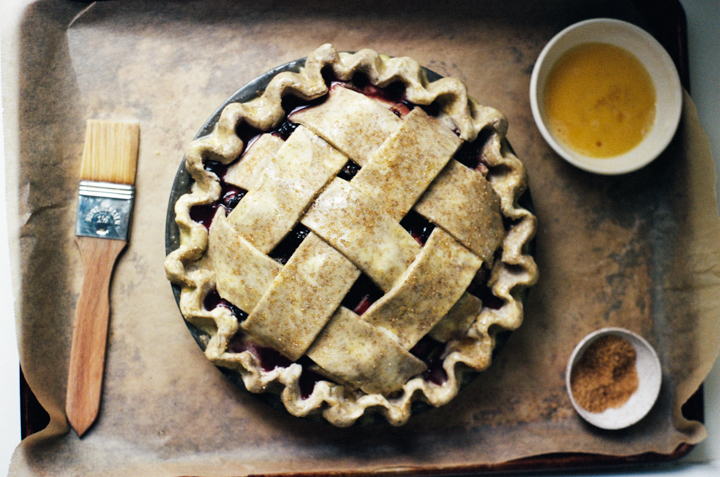 blackberry rhubarb pie | apt 2b baking co