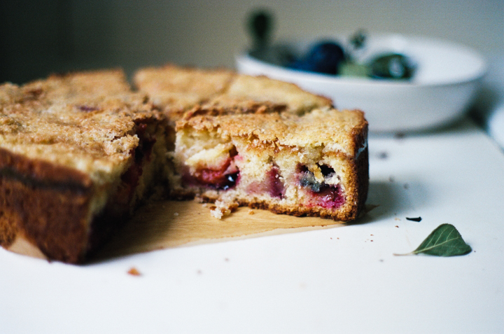 plum macaroon cake | apt. 2b baking co.