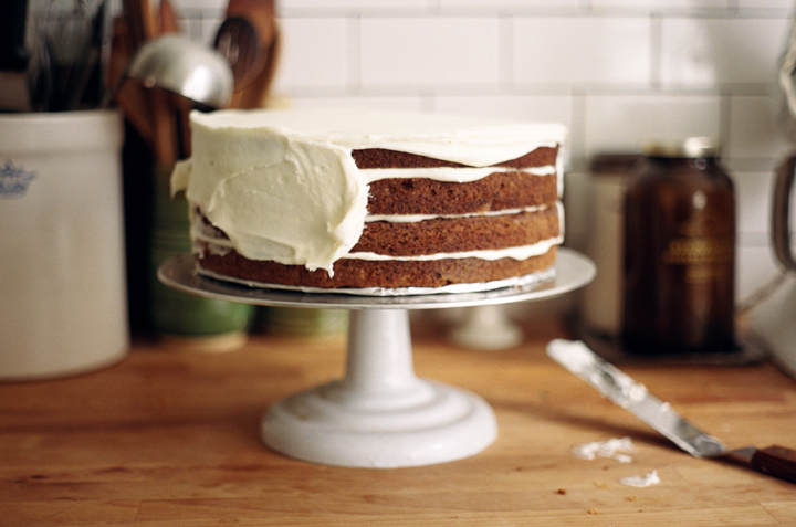 carrot cake with cream cheese frosting | apt 2b baking co