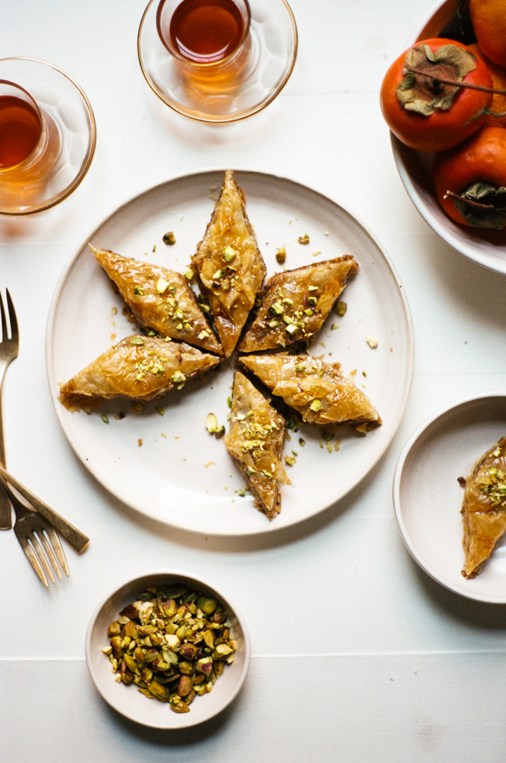 orange blossom baklava | apt. 2b baking co.