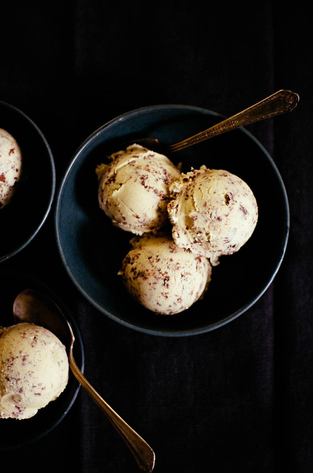tahini stracciatella ice cream | apt. 2b baking co.
