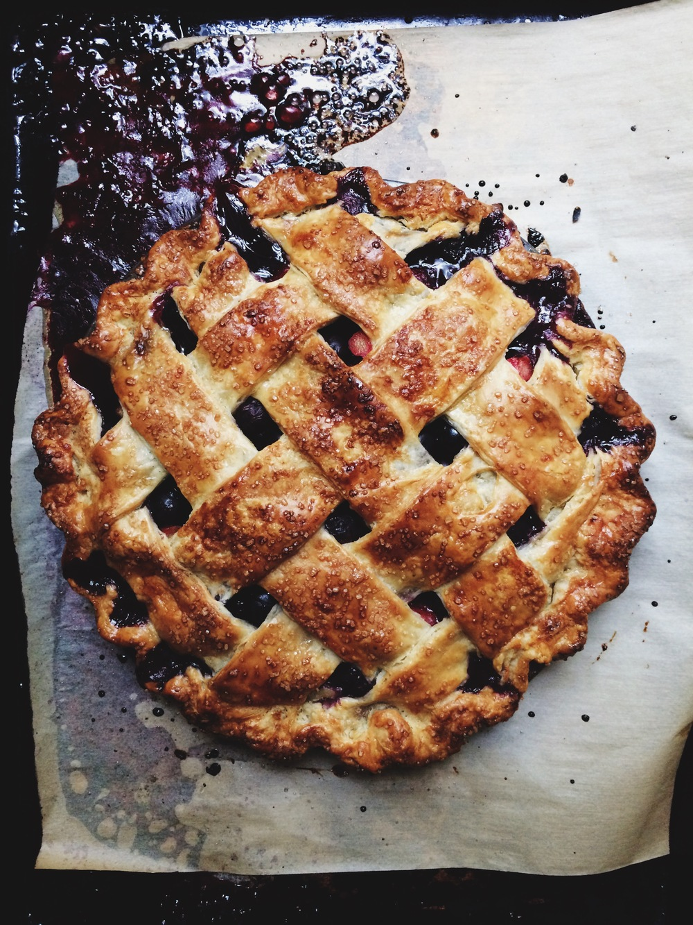 bluebarb pie | apt 2b baking co