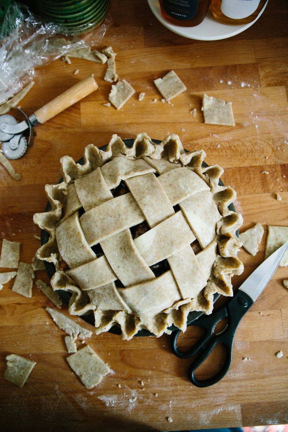 italian plum pie | apt 2b baking co