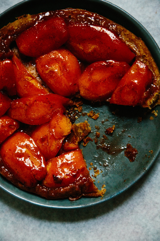 quince tarte tatin | apt 2b baking co