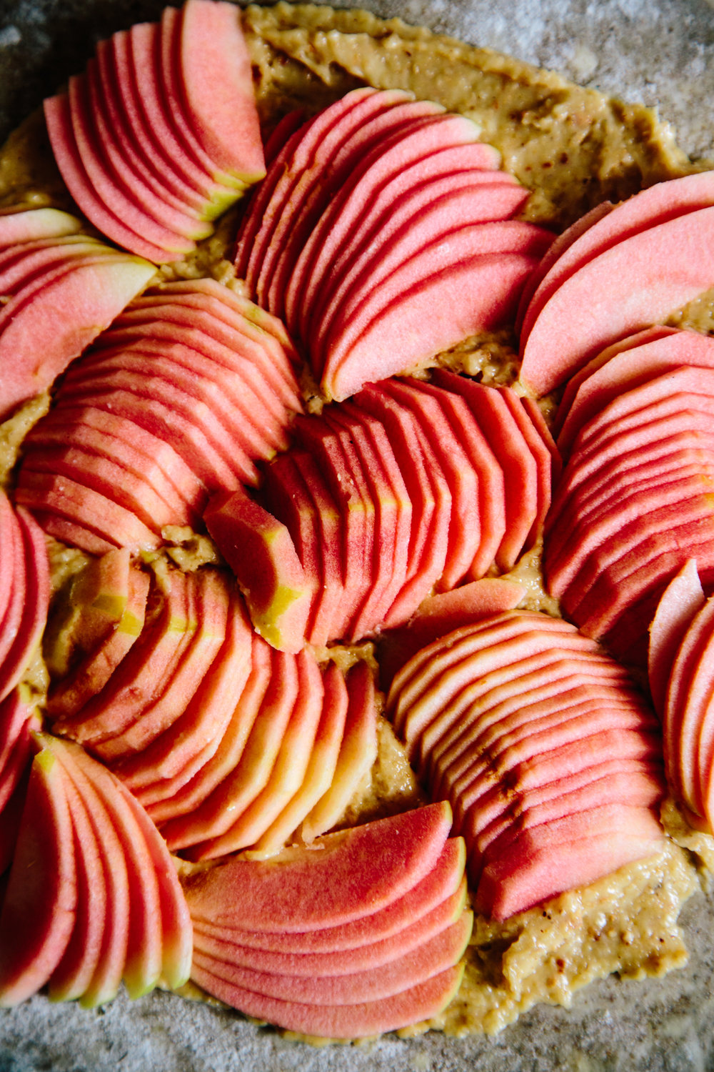 hidden rose apple tart | apt 2b baking co