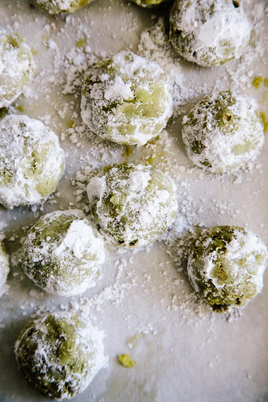pistachio and matcha snowballs (gluten free)-1731.jpg