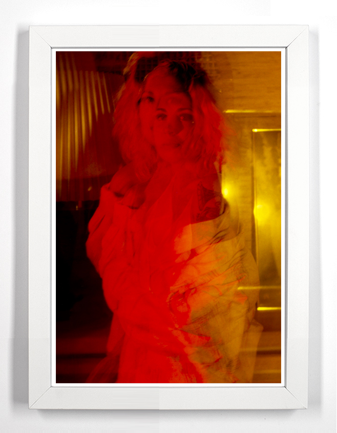 "Jessica 36.5"" x 49.5"" Archival Pigment Print From Fujifilm FP-100c"