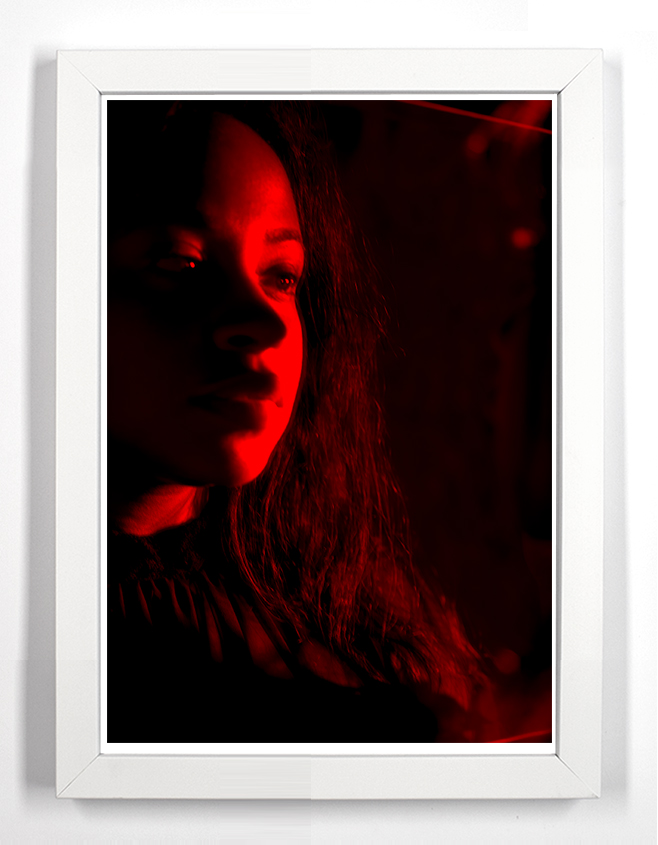 "Aleiya 36.5"" x 49.5"" Archival Pigment Print From Fujifilm FP-100c"
