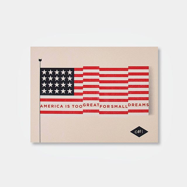 """designed by @_mmolinaro, LA.  18 x 22"""". screenprinted by hand (@danger_press). available in the shop.  #youngandunited #thedesigntip #design #fourthofjuly"""