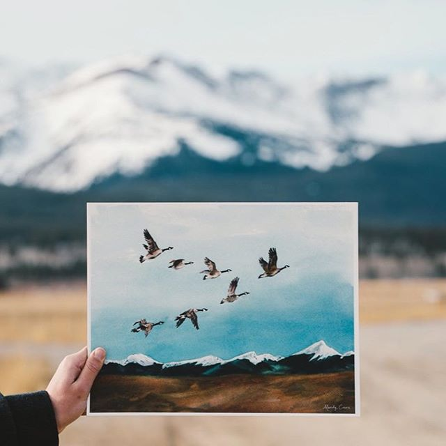 loooving the work of artist @mandycave. go score one of her prints!  photo by @joelbear  #youngandunited