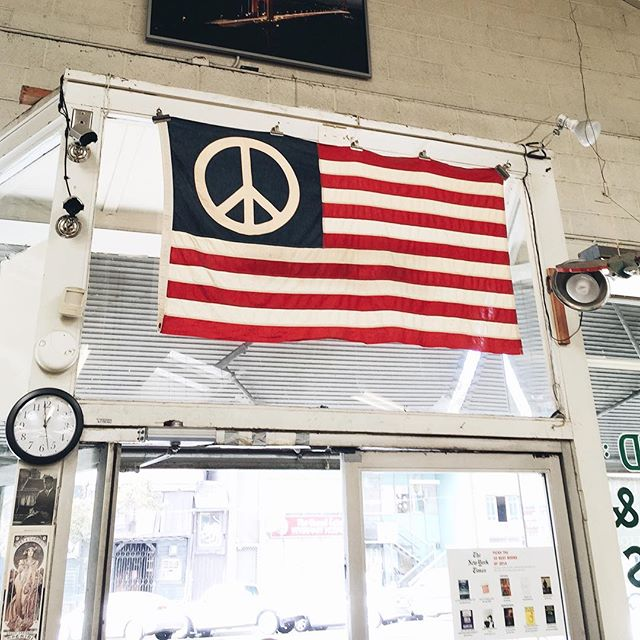 Peace, please.  #youngandunited #vscocam #americanflag #peace
