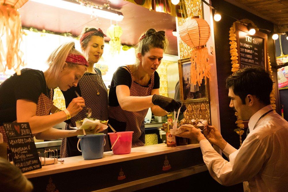 Try Thai food truck - HOP ON HOP OFF Breda 2018    Foto gemaakt door Denise Motz