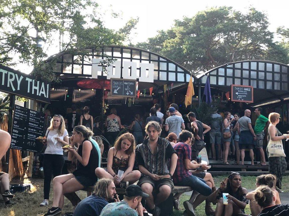 BEST KEPT SECRET 2018   Festivalcatering/mega mobiele keuken/restaurant op locatie