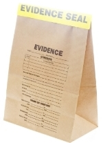 Sealed evidence bag