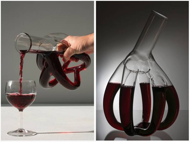 The Big Heart Wine Decanter