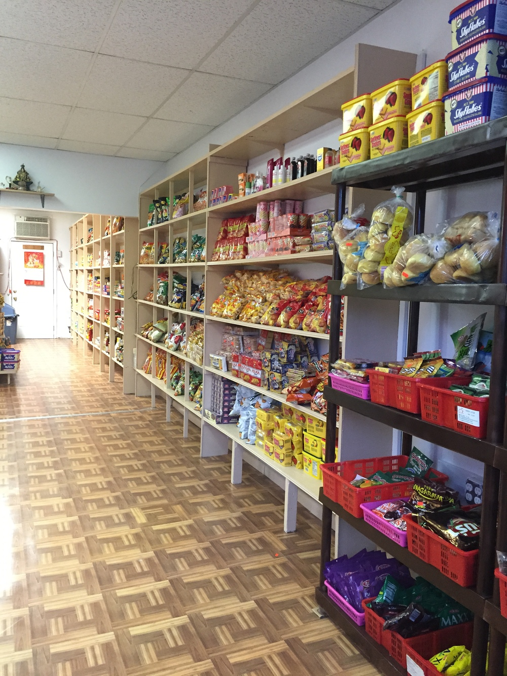 Photo Above: Canarsie Fil-Am Store's newly redesigned space, bright and well-organized