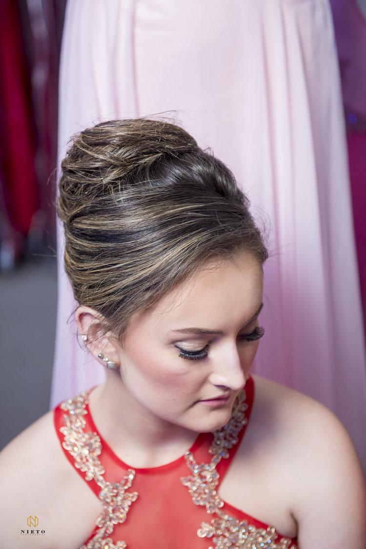 Savvi Prom | Fashion Show | Raleigh NC — Wedding Hair by Liz