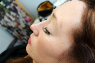 Classic Lash application.