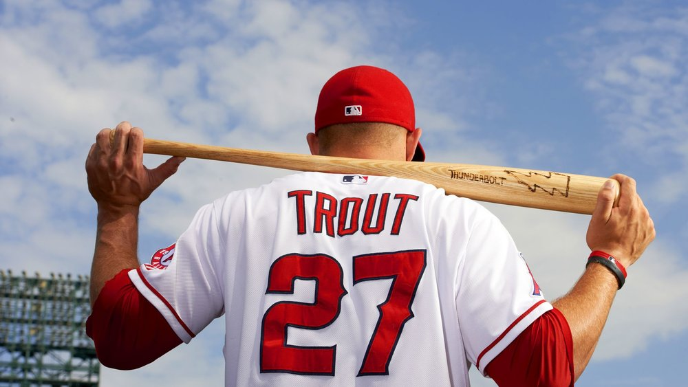 96a72a8a5e5 MIKE TROUT Los Angeles Angels — Crave the Auto