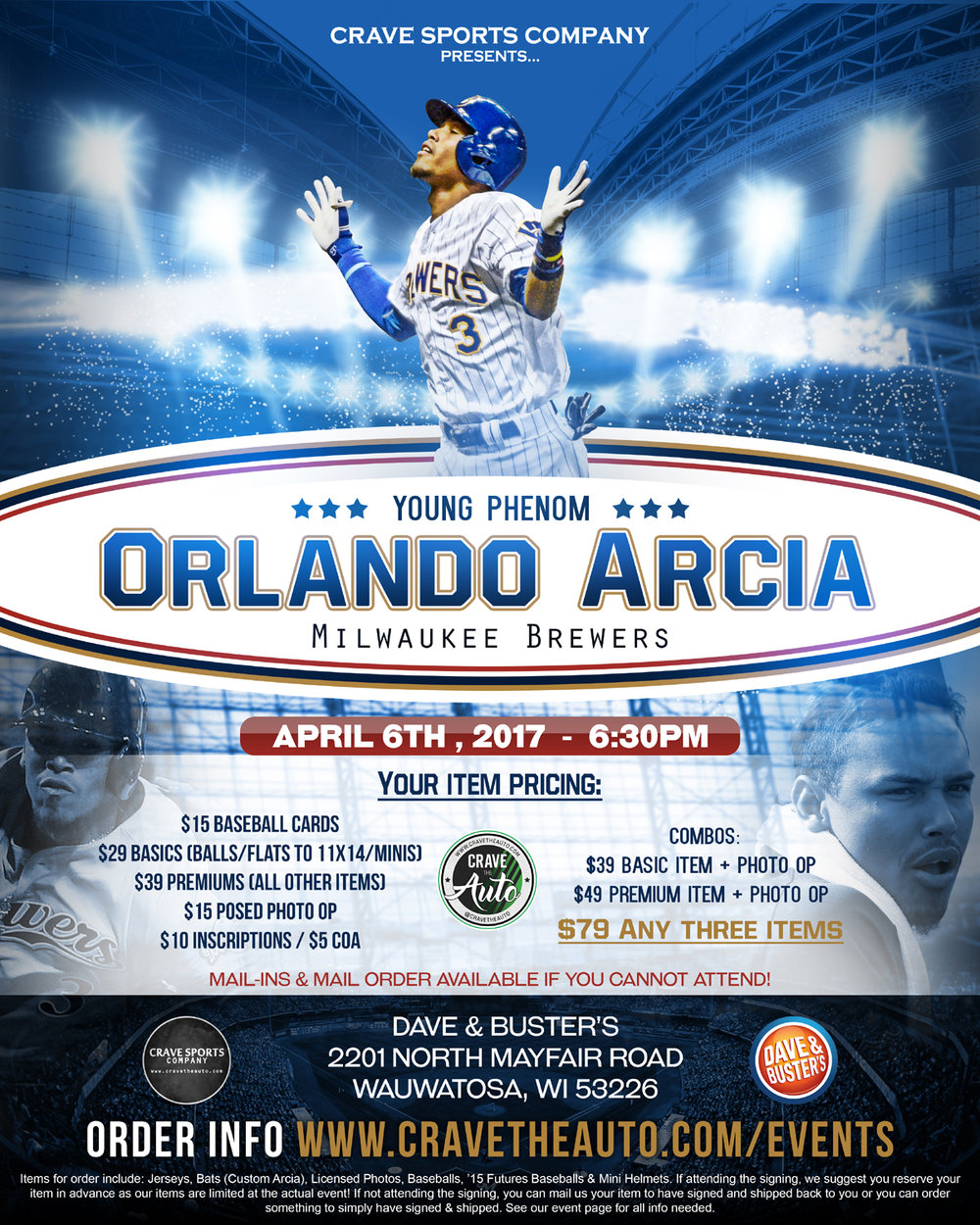 Orlando Arcia Public Signing