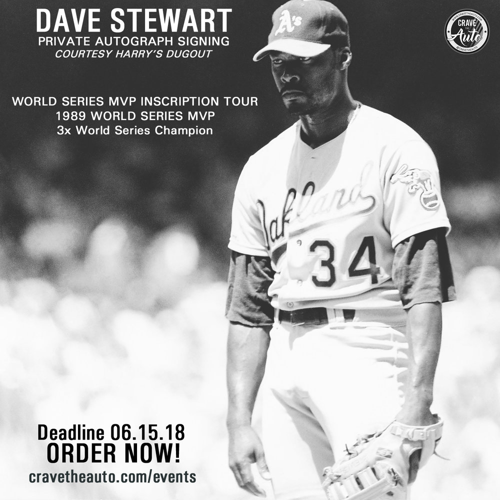 Click for Dave Stewart Autograph Signing!  Order something to be autographed and sent to you!