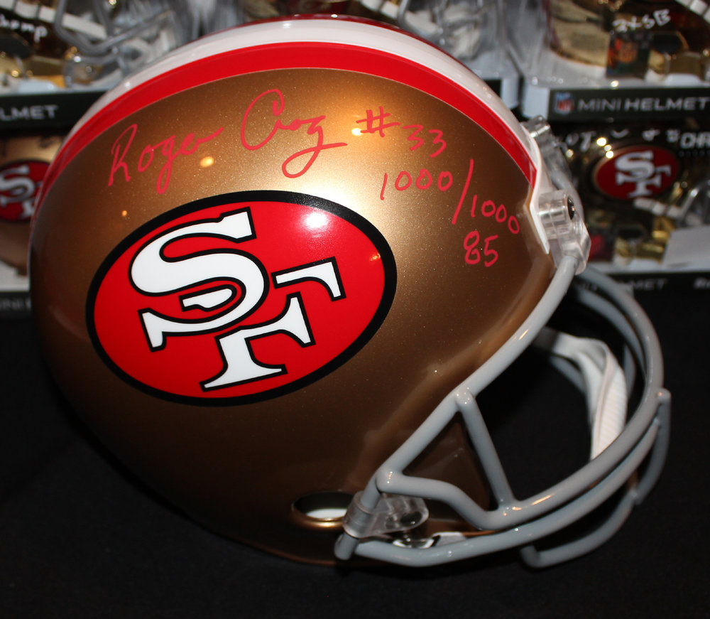 ee78baec2 Roger Craig Full Size 49ers F S Replica Helmet w  1000 1000 (Red)