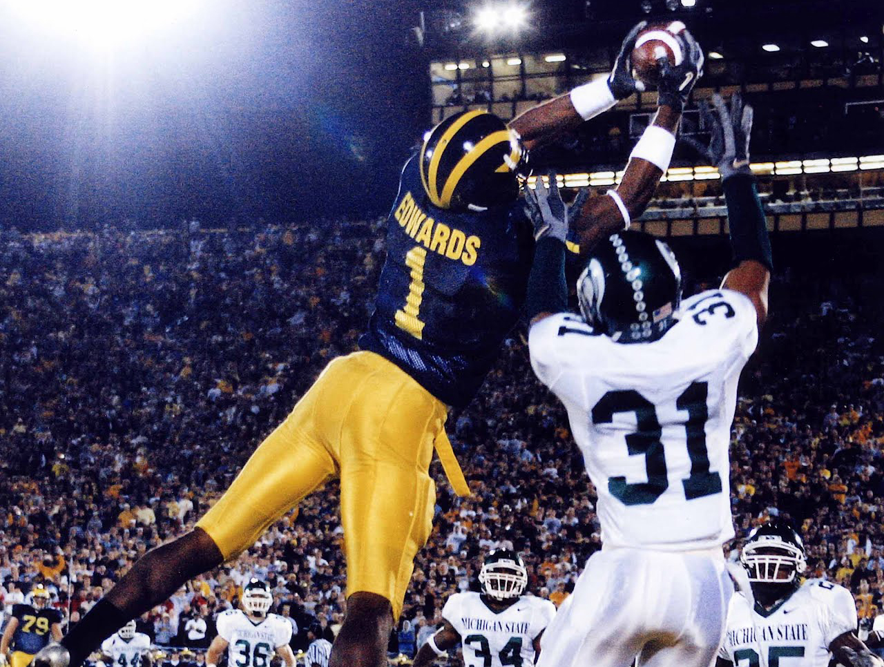 best sneakers 68875 394bf BRAYLON EDWARDS Michigan Wolverines Great — Crave the Auto