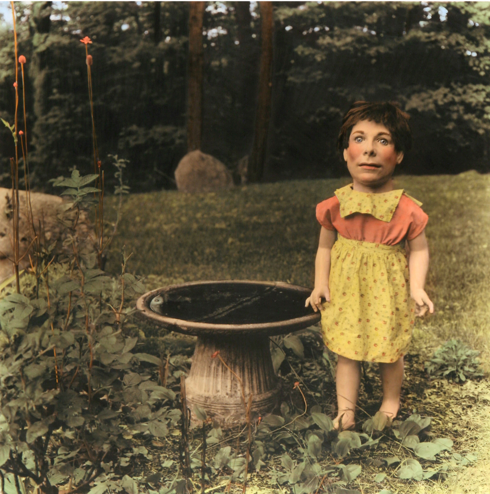 Doll with Bird Bath