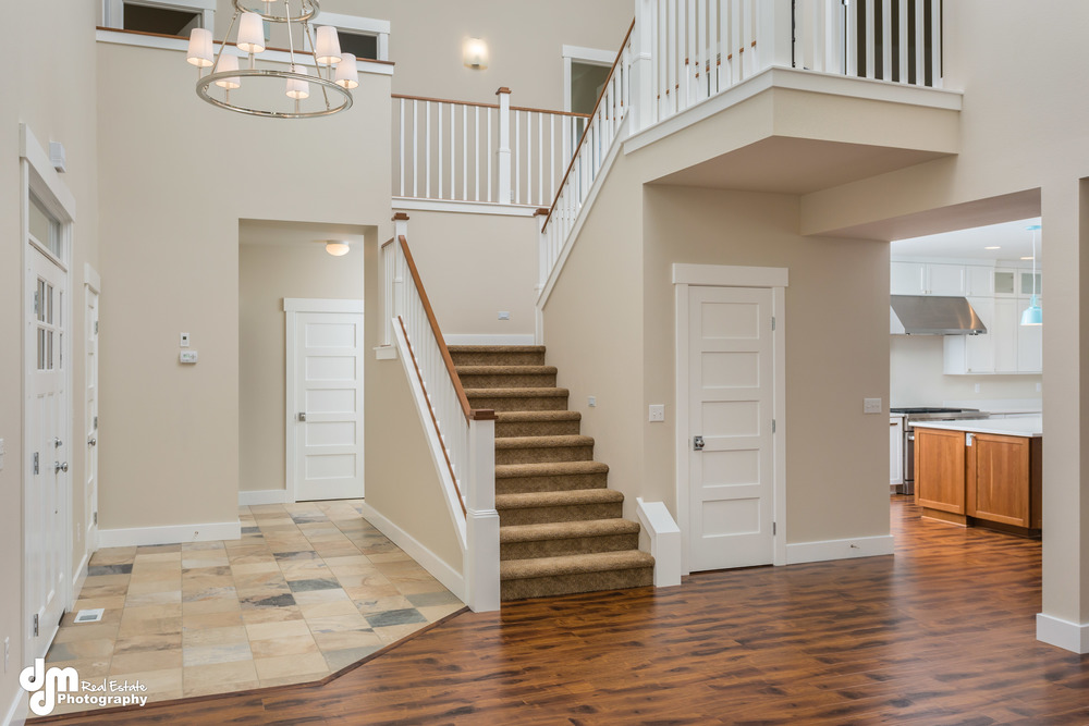 Staircase and Main Living Area