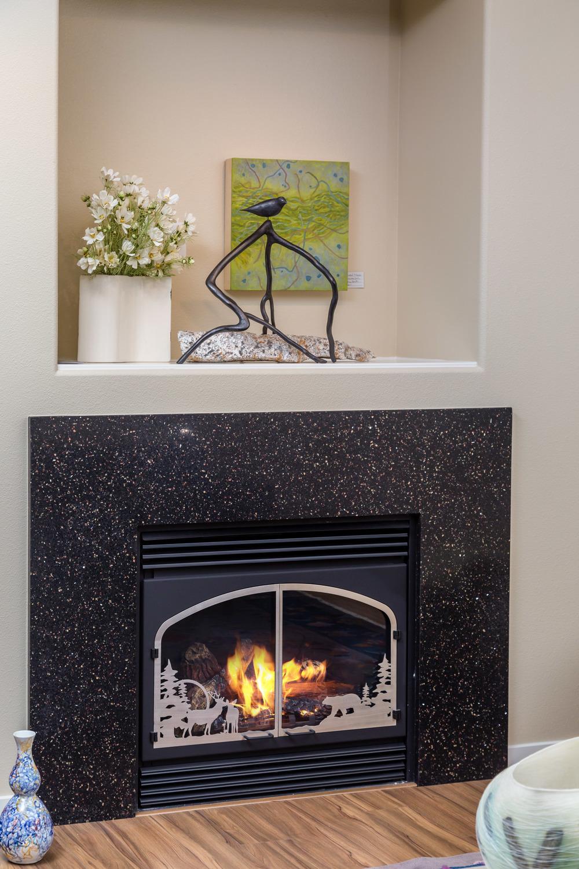 Fireplace by  Glacierstone