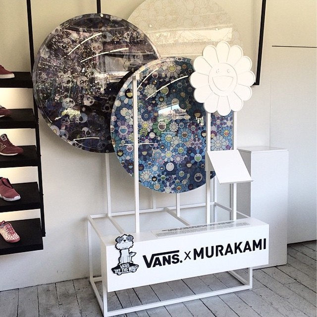 Totally Happening!! Takashi Murakami x Vans and I'm excited!!