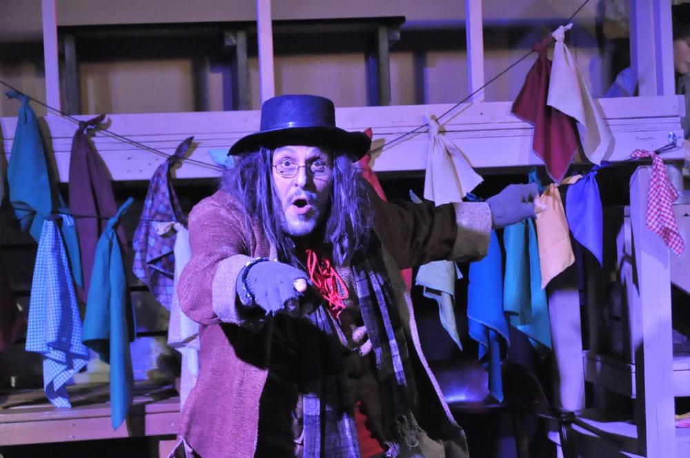 Tony Frangipane as Fagin
