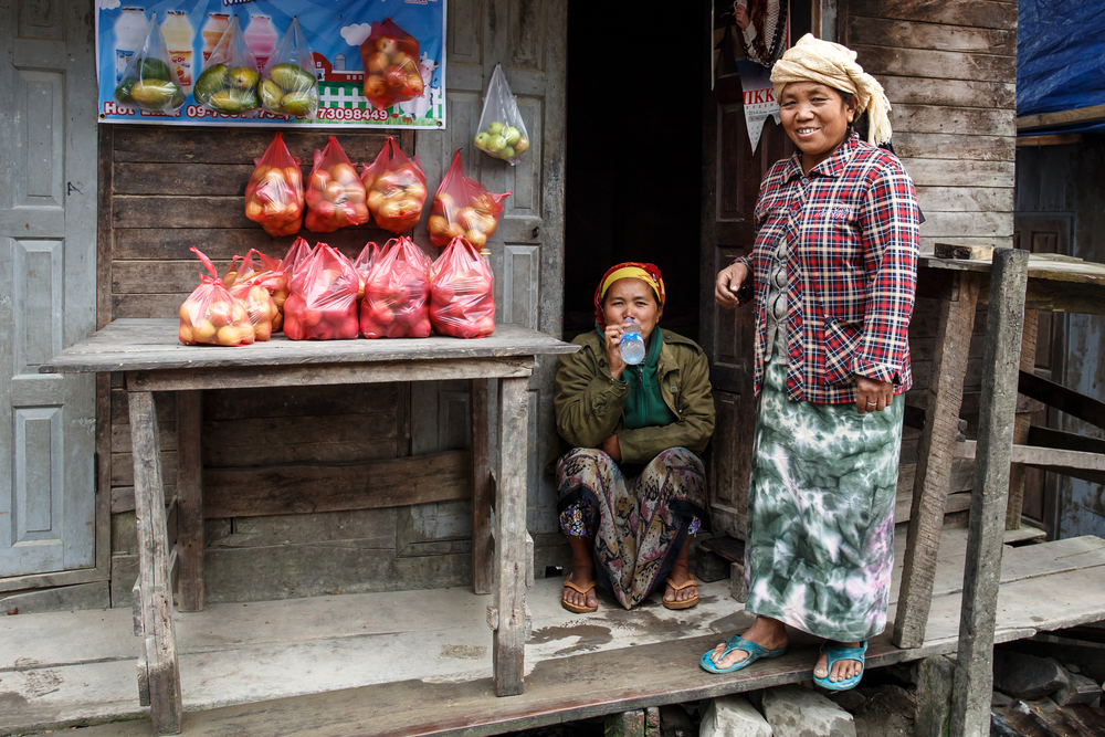 Photo: Chin women, Chin state, Myanmar.   © Sam D\'cruz | Dreamstime.com