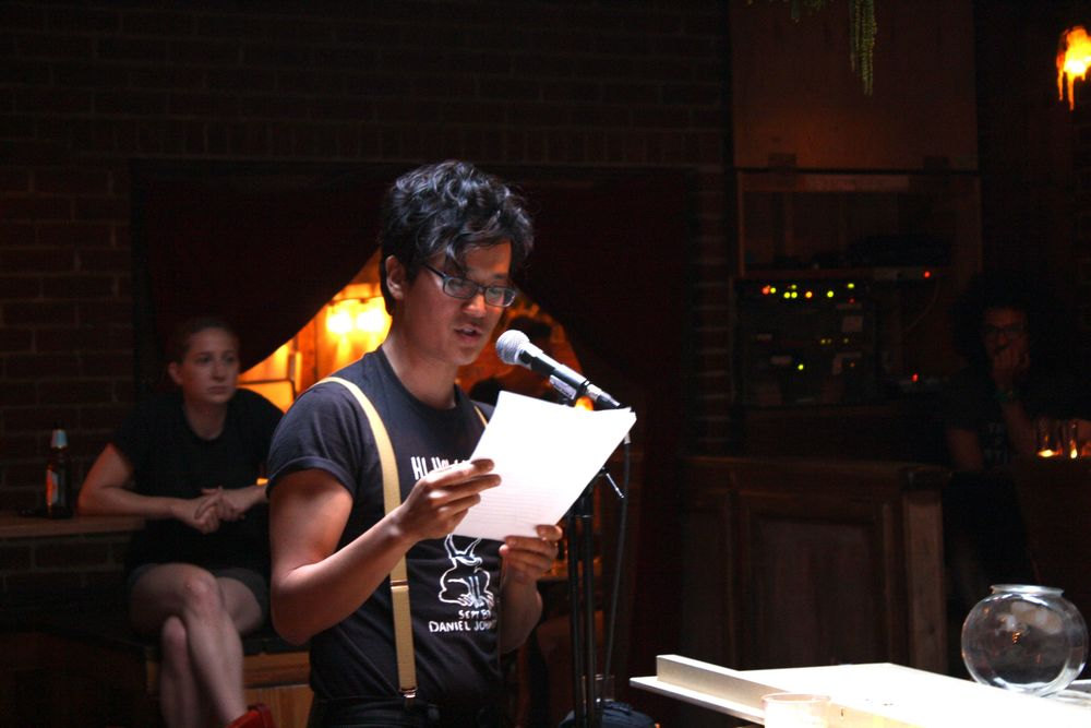James Yeh will be reading at   The Difficult to Name Reading Series On A Boat   this Saturday, June 13.