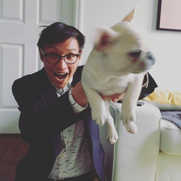 Kevin Nguyen (seen here with  Bao Bao ) will be reading at  the Last DTN in NYC on Friday July 20