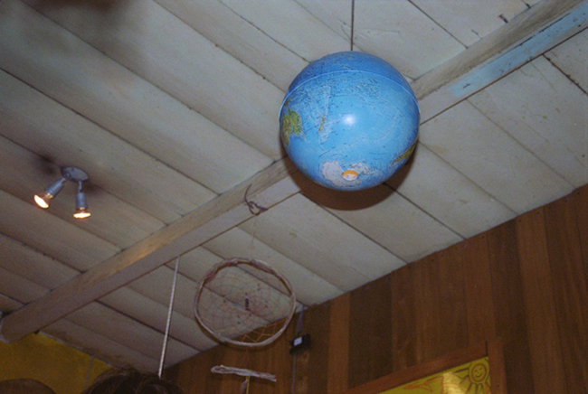 Globe and Dreamcatcher