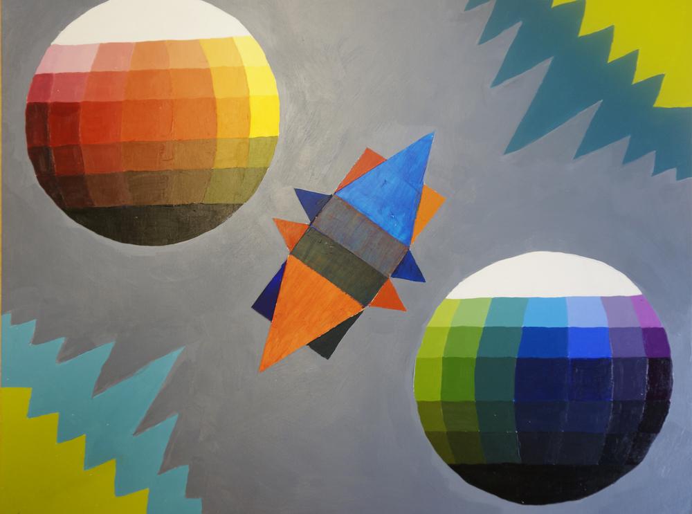Color Study with Geometrics