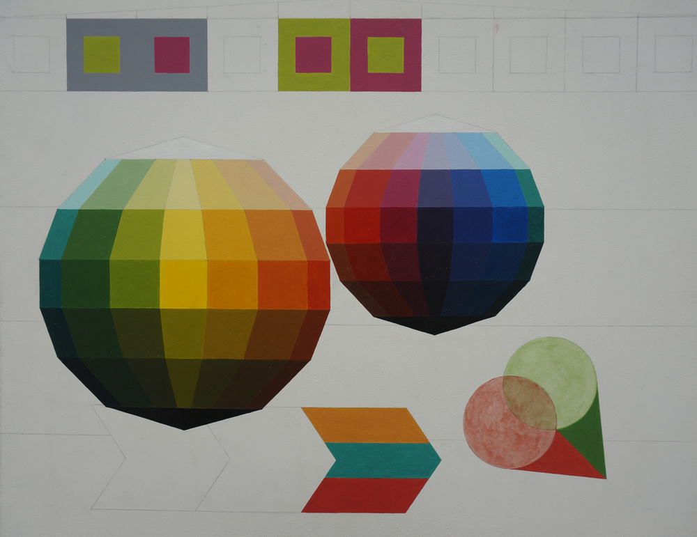 Color Study with Geometrics