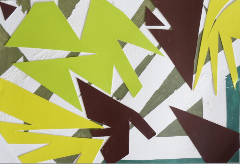 Cut Collage Color Study