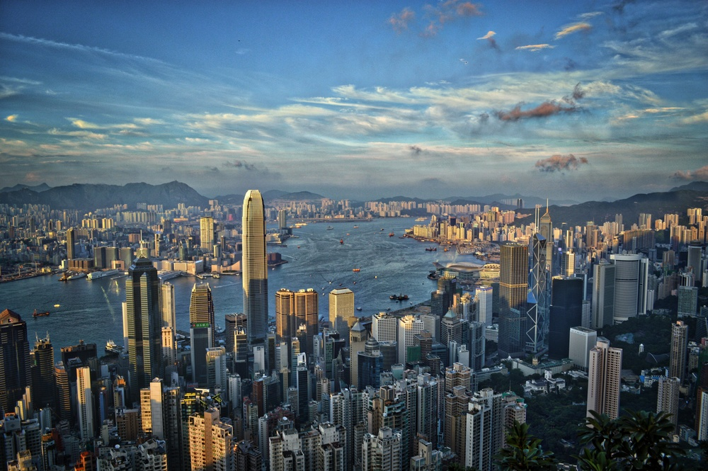 My favorite city in the world-Hong Kong
