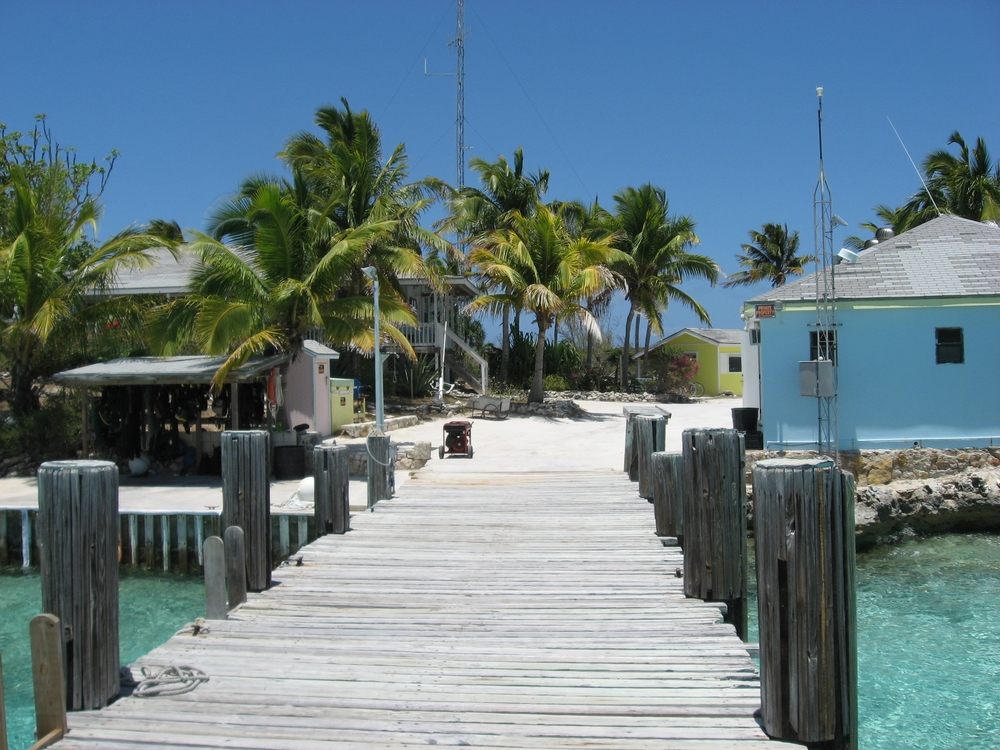 Perry Institute of Marine Science on Lee Stocking Island, Bahamas