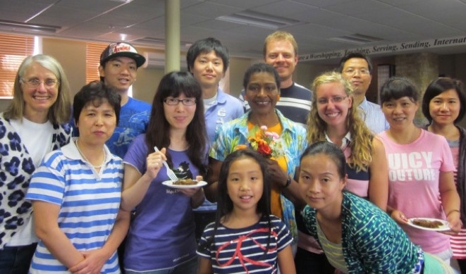 We invite Christian brothers and sisters to volunteer to teach English to International Students