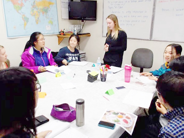 Volunteer English Teachers have many opportunities to develop relationships with their students.