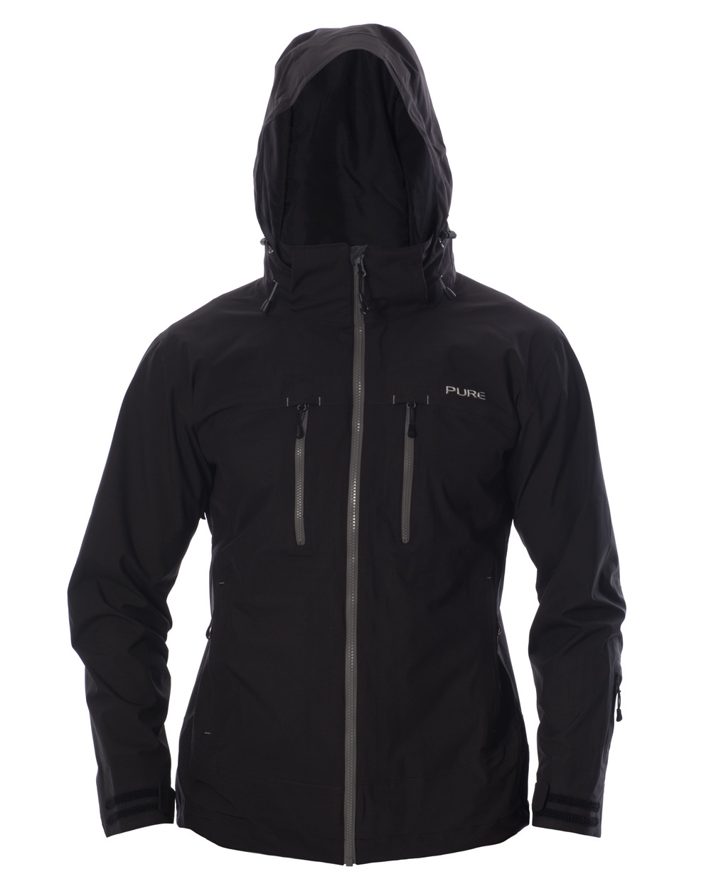 Everest Men's Jacket - Black / Ebony Zips