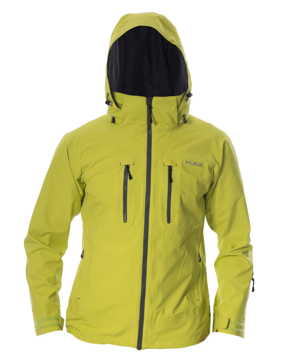 Copy of Everest Men's Jacket - Lime / Ebony Zips