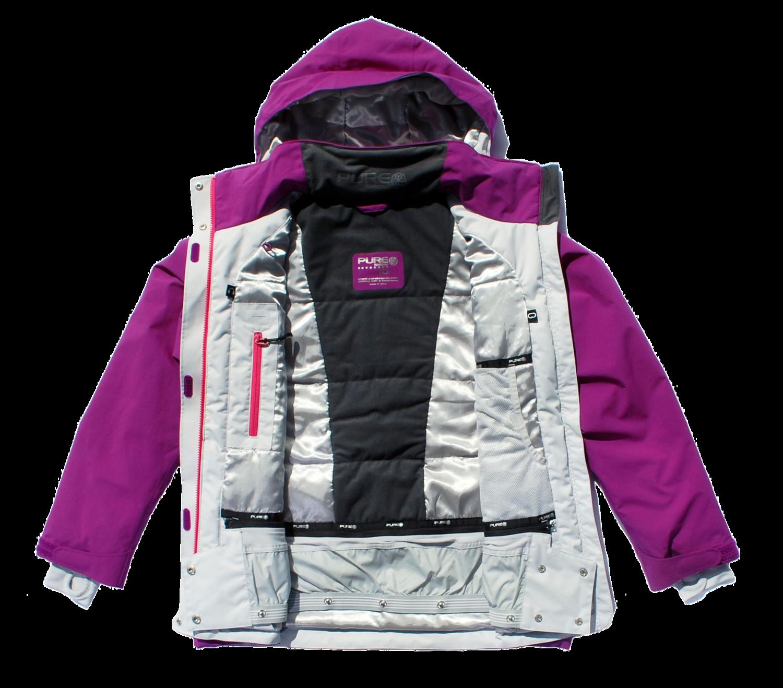 Pure Snow Chamonix Women s Jacket - Orange Womens Mens Womens Womens ... 84865105b